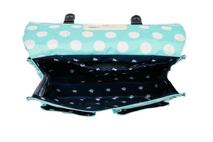 Mint Candy Dots - Cartable Tula