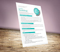 RHD's Print Design Cheat Sheet - Digital Download