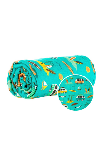 Surf's Up - Tula Cuddle Me Decke