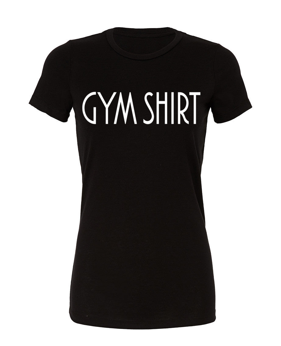 Gym Shirt - Womans Cotton Tee - SoreTodayStrongTomorrow