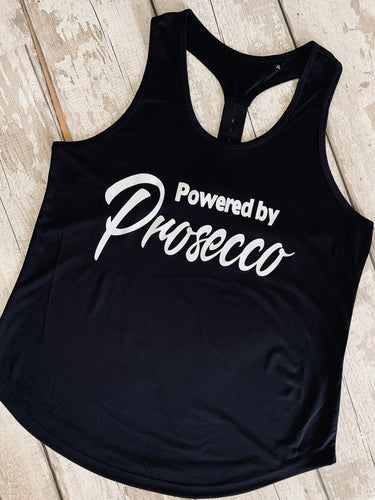 Powered by Prosecco - Strap back