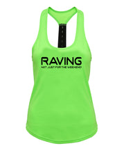 RAVING NOT JUST FOR THE WEEKEND! - Strapback *NEON* - SoreTodayStrongTomorrow