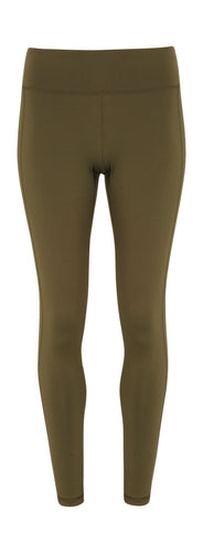 Women's performance leggings Olive