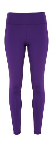 Women's performance leggings Purple