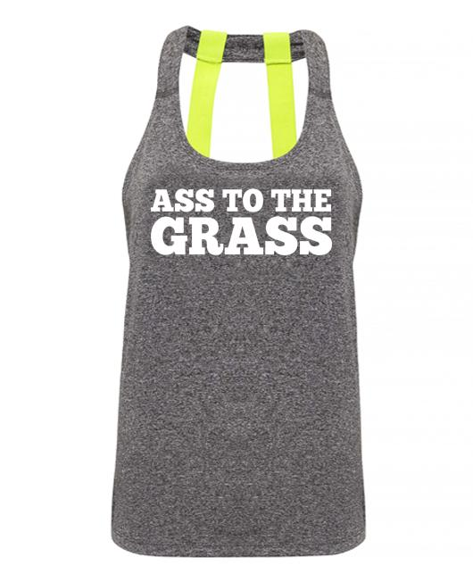 ASS TO THE GRASS - Double strap back - SoreTodayStrongTomorrow
