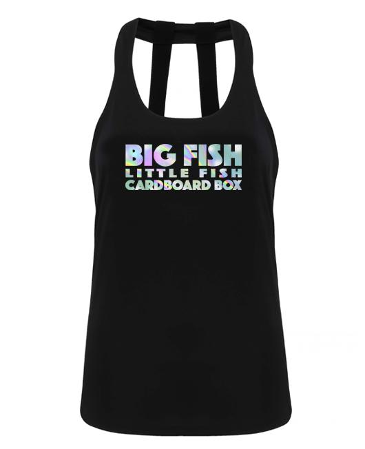 Big fish little fish cardboard box - double strap back - Chrome - SoreTodayStrongTomorrow