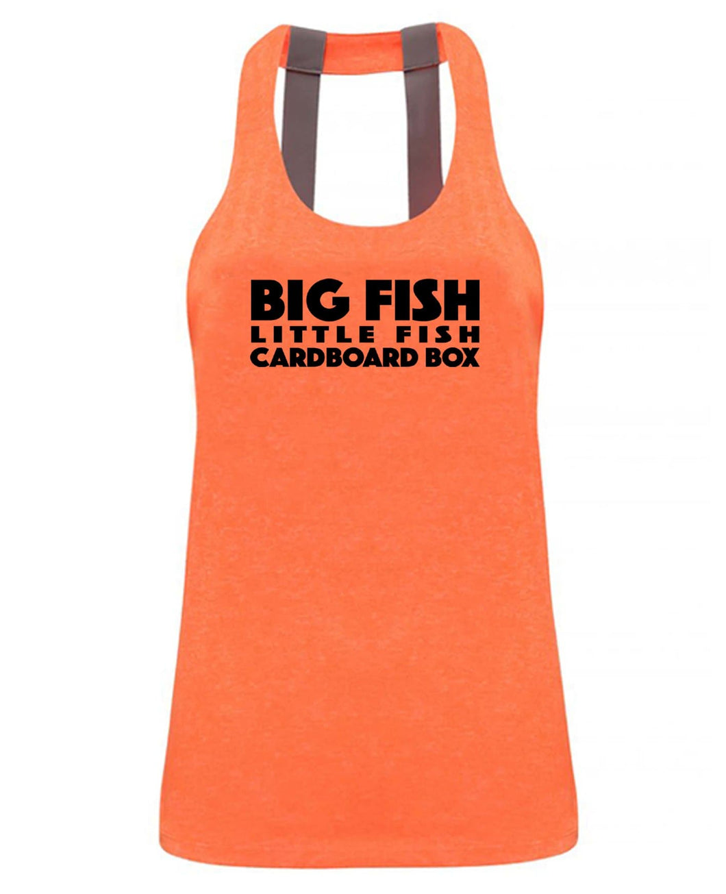 Big Fish Little Fish Cardboard Box - Double strap back - SoreTodayStrongTomorrow