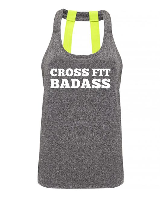 Cross Fit Badass - Double strap back - SoreTodayStrongTomorrow