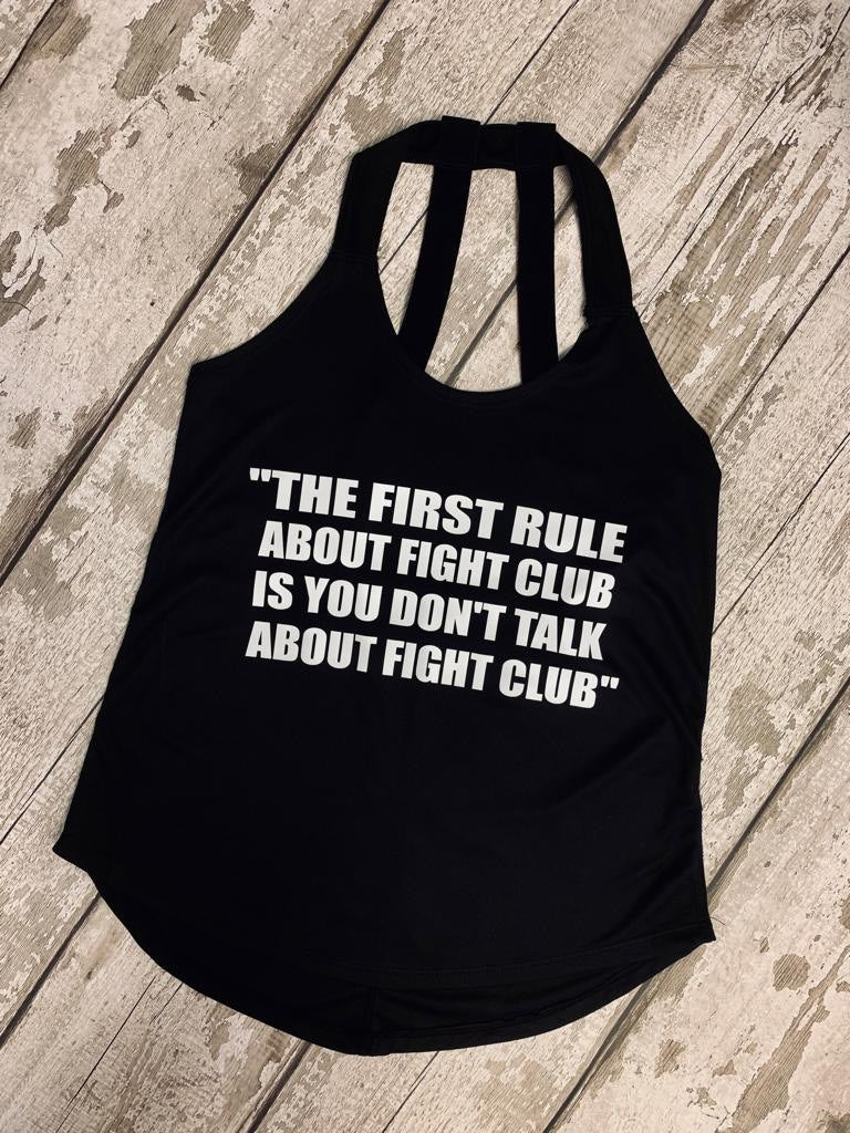 The first rule about fight club