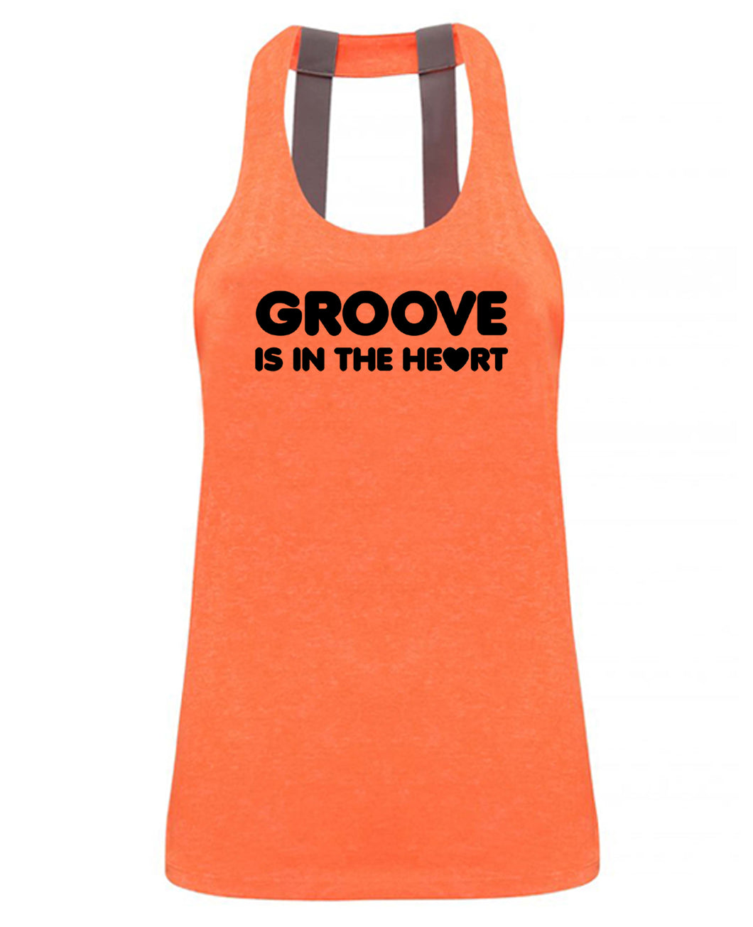 GROOVE IS IN THE HEART - Double strap back - SoreTodayStrongTomorrow