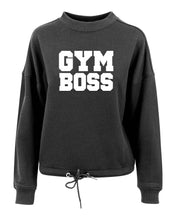 GYM BOSS - Women's oversize crew neck sweatshirt - SoreTodayStrongTomorrow