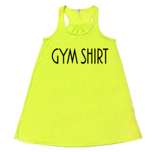 GYM SHIRT - Flowy Racerback Tank - SoreTodayStrongTomorrow