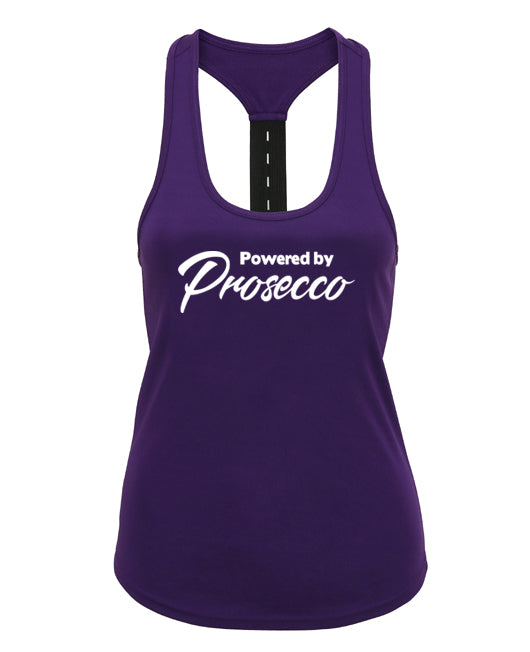 Powered by Prosecco - Strap back - SoreTodayStrongTomorrow