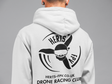 Herts FPV Hoodie with full logo front and back