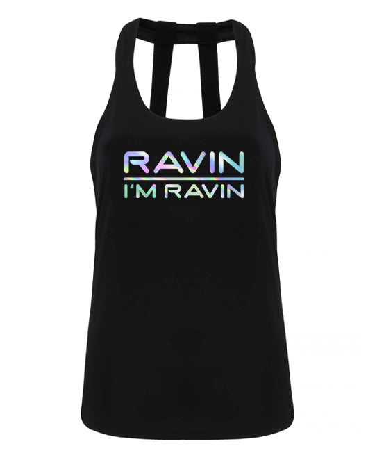 RAVIN IM RAVIN - double strap back - Chrome - SoreTodayStrongTomorrow