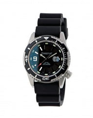 M50-DSS 34 Black/Black 'Twist' Rubber Watch