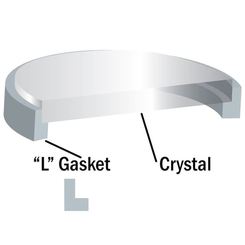 Sapphire Crystal | L Gasket & Crystal