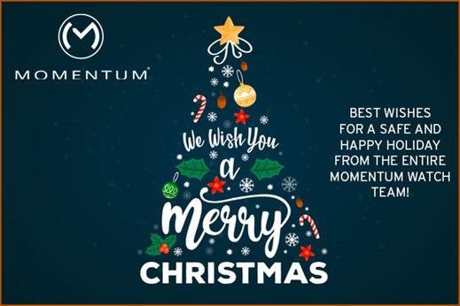 Momentum Holiday Hours