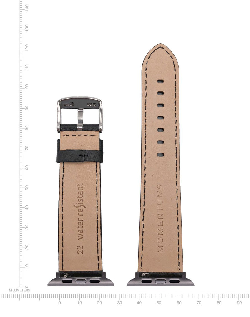 Apple Watch Band - Nappa Leather - 22mm - Momentum Watches US