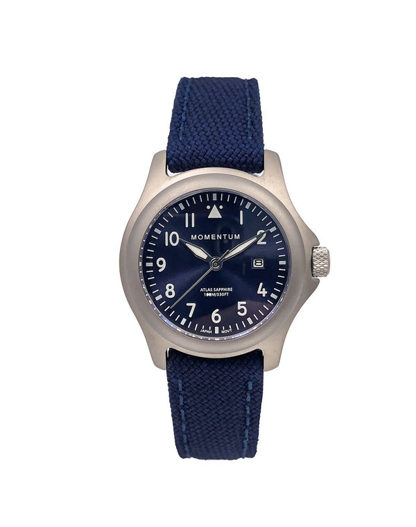 Atlas - Blue Sapphire Special Edition [32mm] - Momentum Watches US