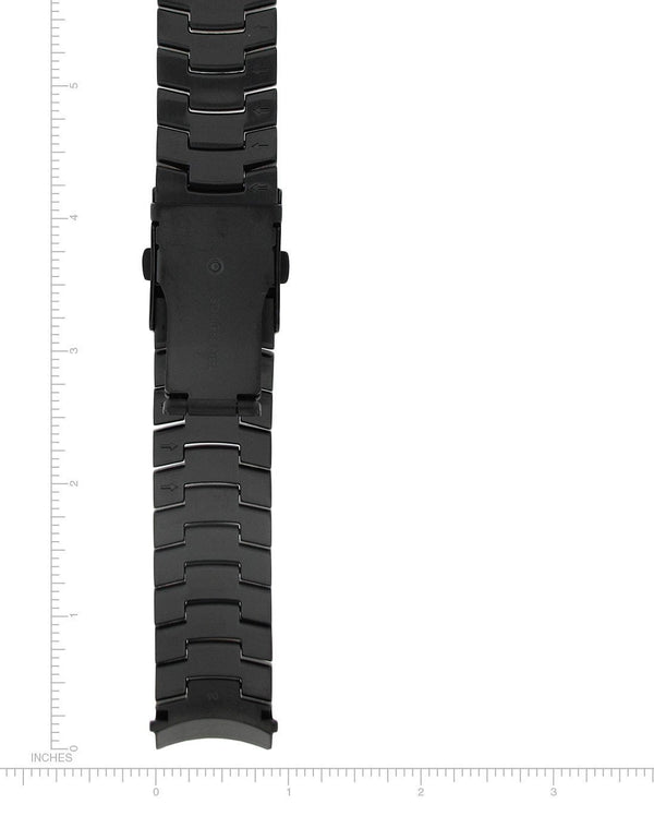 Black-Ion Stainless Steel Bracelet - 22mm - Momentum Watches US