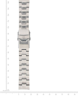 Logic & Flatline Stainless Steel Bracelet - 18mm - Momentum Watches US