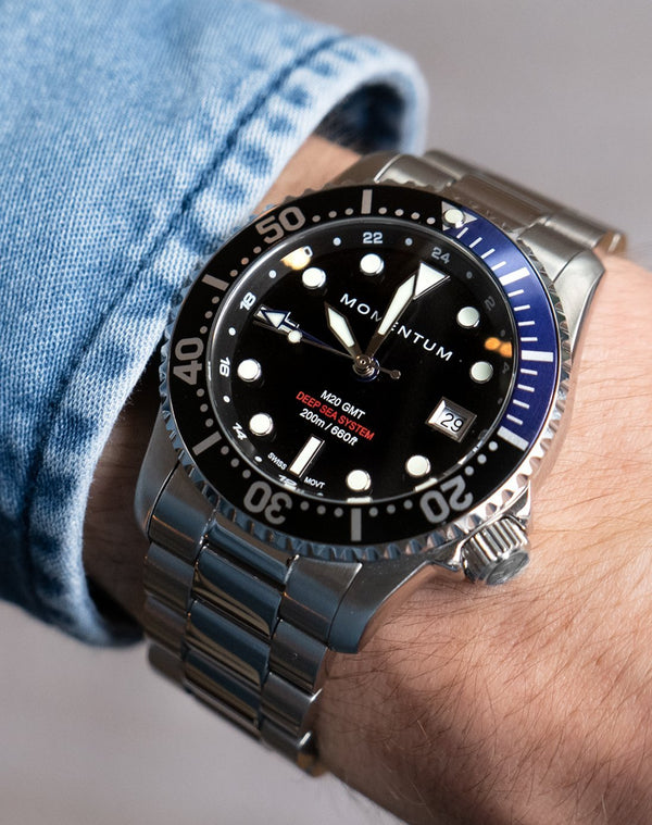 M20 GMT DIVER [42MM] - Momentum Watches US