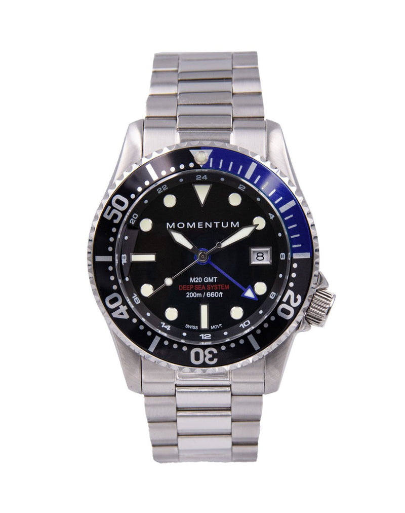 M20 GMT DIVER [42MM] PRE-ORDER - Momentum Watches US