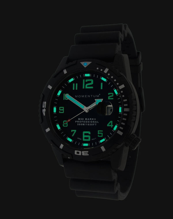 M50 Black-ion [44mm] - Momentum Watches US