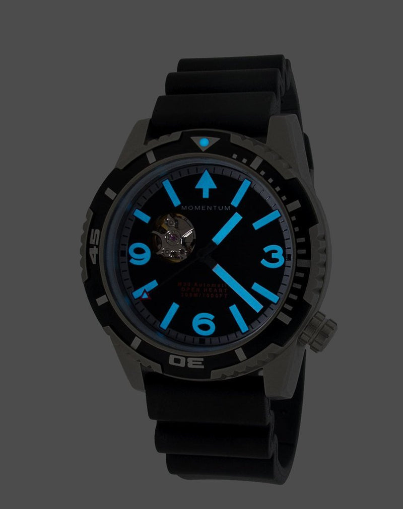 MH30 Open Heart [44mm] - Momentum Watches US