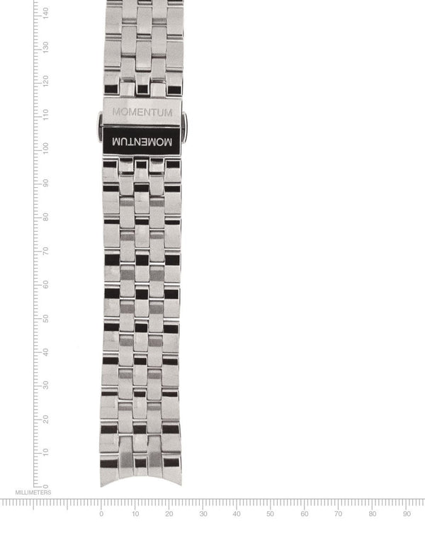 Morioka Stainless Steel Bracelet - 22mm - Momentum Watches US