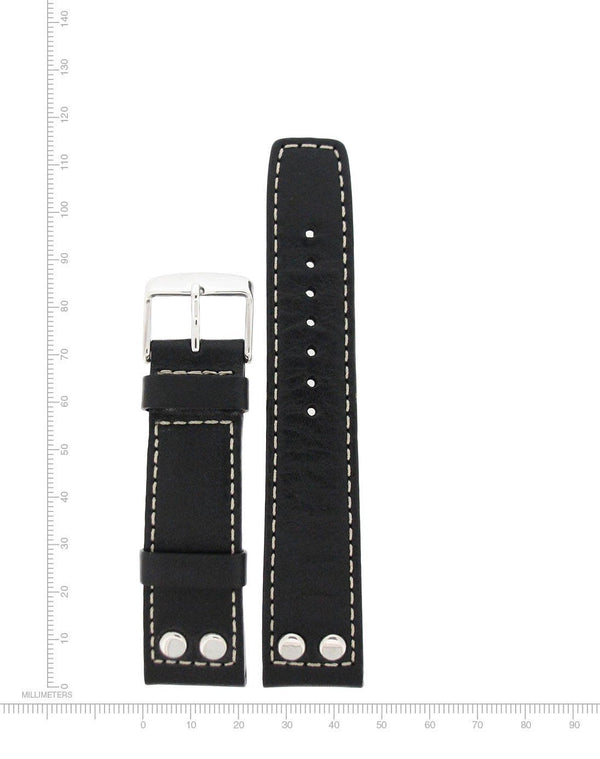 Rivet Leather - 22mm - Momentum Watches US