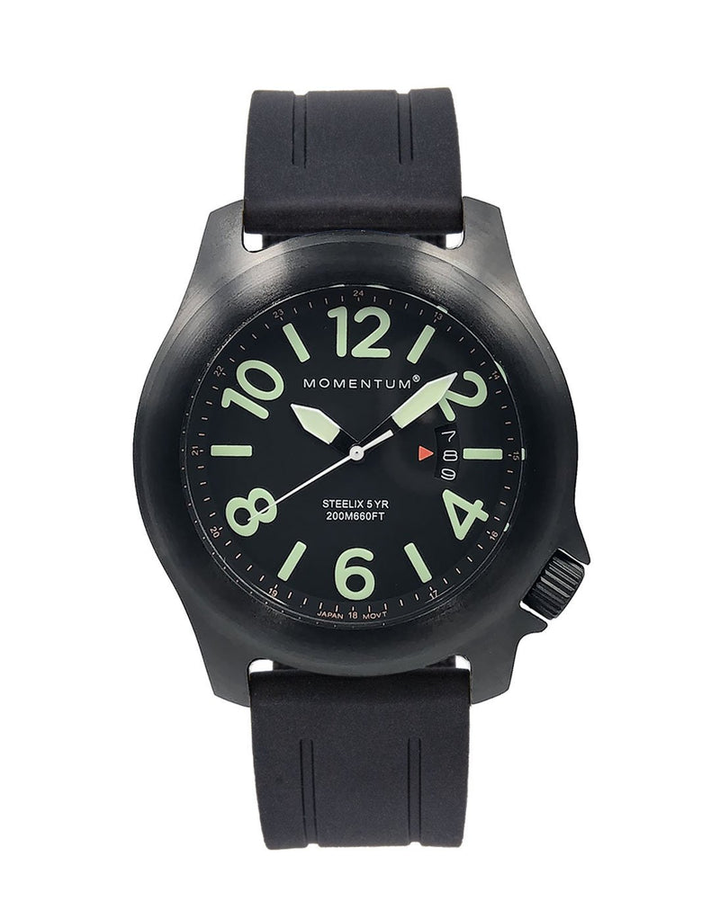 Steelix Black-ion [44mm] - Momentum Watches US