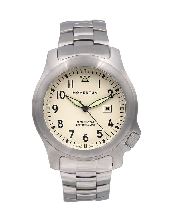 Steelix Ivory SE [44mm] - Momentum Watches US