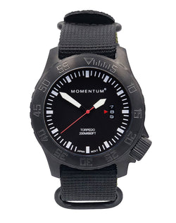 Torpedo Black-ion [44mm] - Momentum Watches US