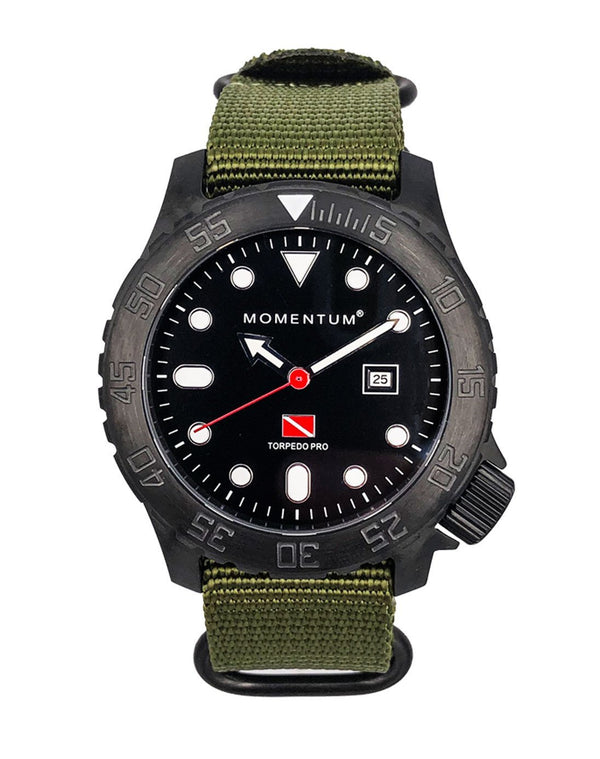 Torpedo Ion-Pro [44mm] - Momentum Watches US