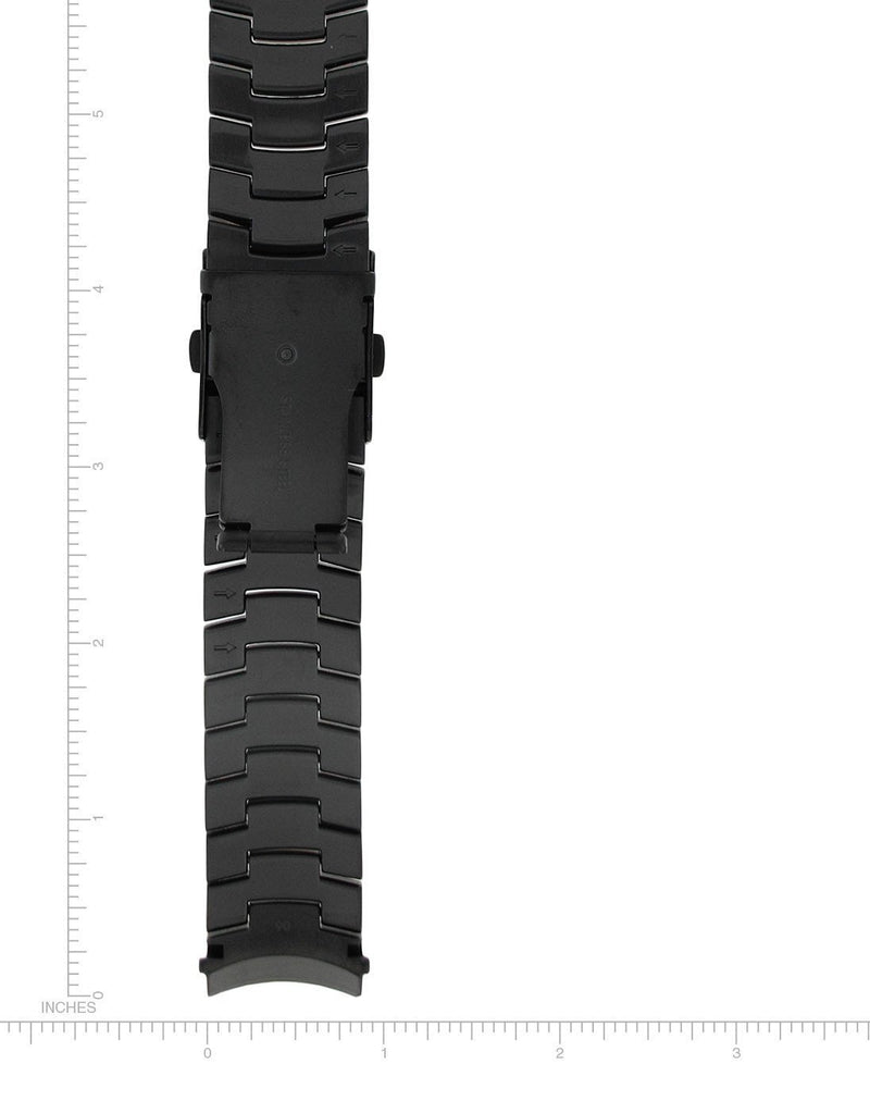 Vision/Night Vision Black-Ion Stainless Steel Bracelet - 22mm - Momentum Watches US