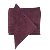 Wine Bleach Proof Washcloth