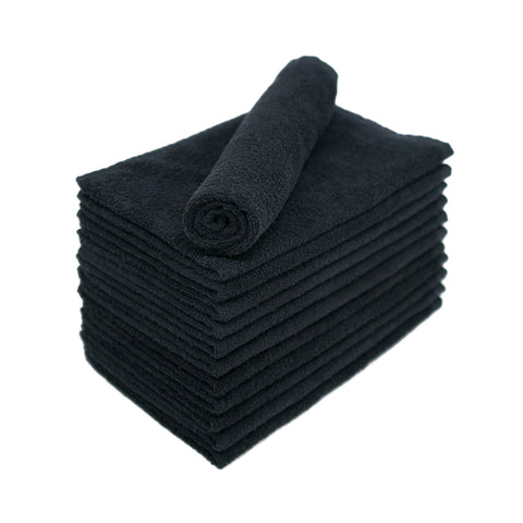 Black Bleach Proof Towels 16