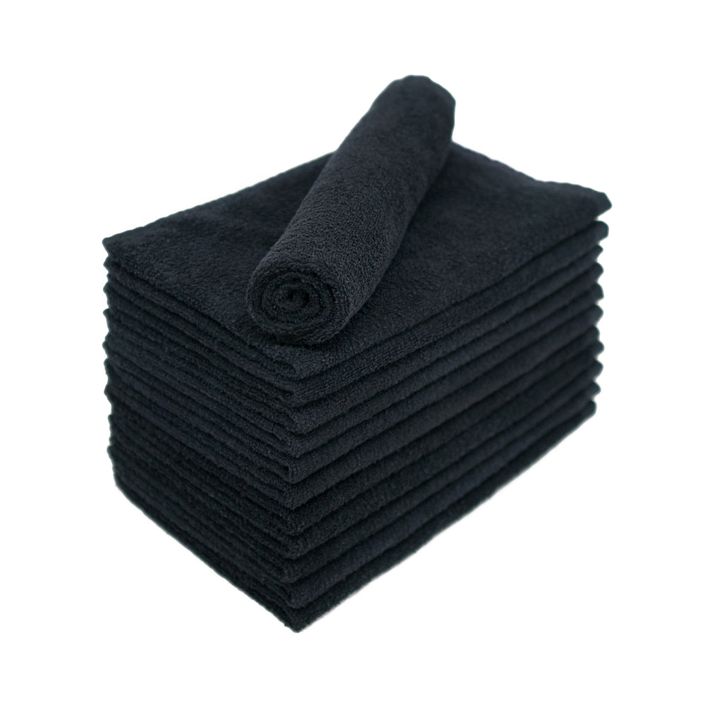 Black Bleach Proof Salon Towels 15