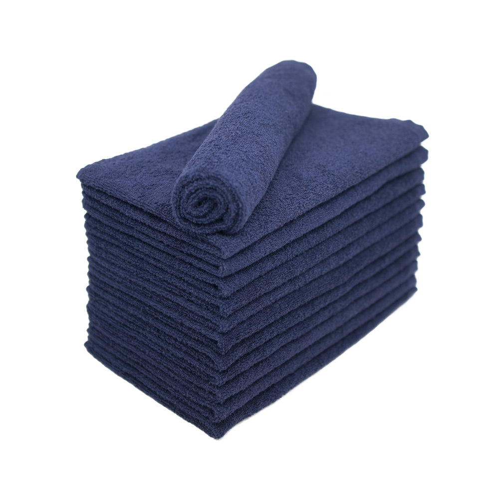 Navy Blue Bleach Proof Salon Towels 15