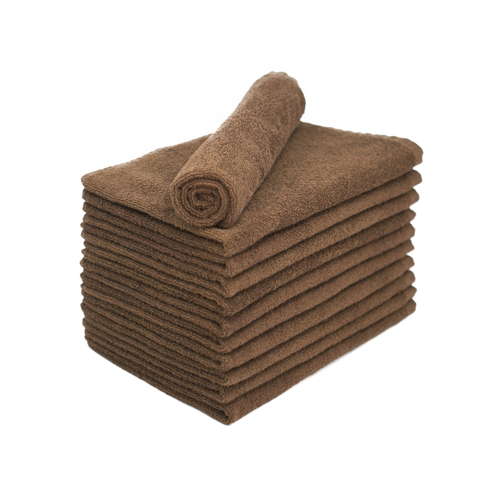 Brown Bleach Proof Salon Towels 15