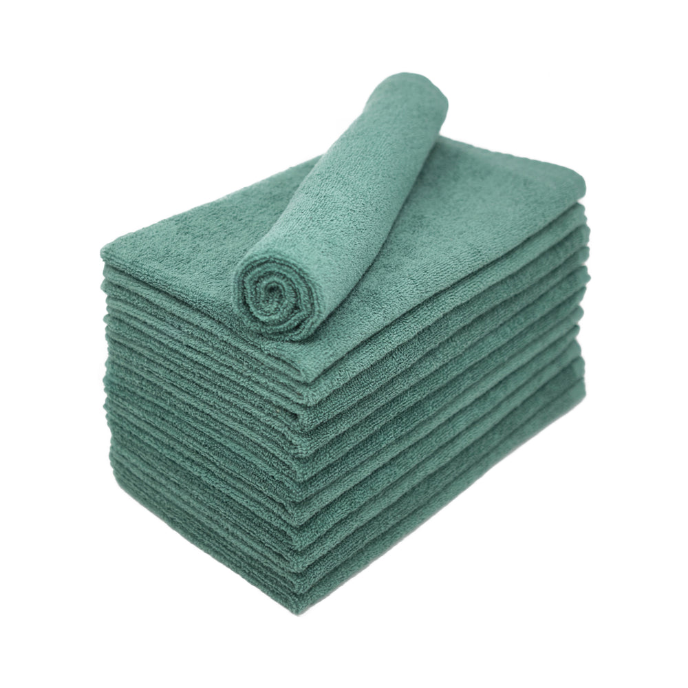 Forest Green Bleach Proof Salon Towels 15