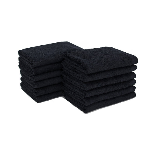Black Bleach Proof Washcloth