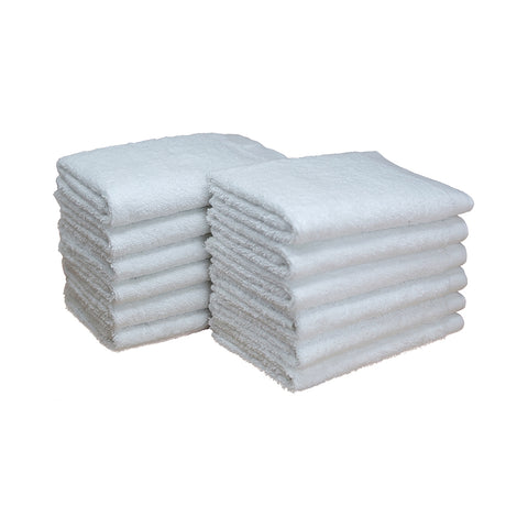 Bleach Proof Washcloth White