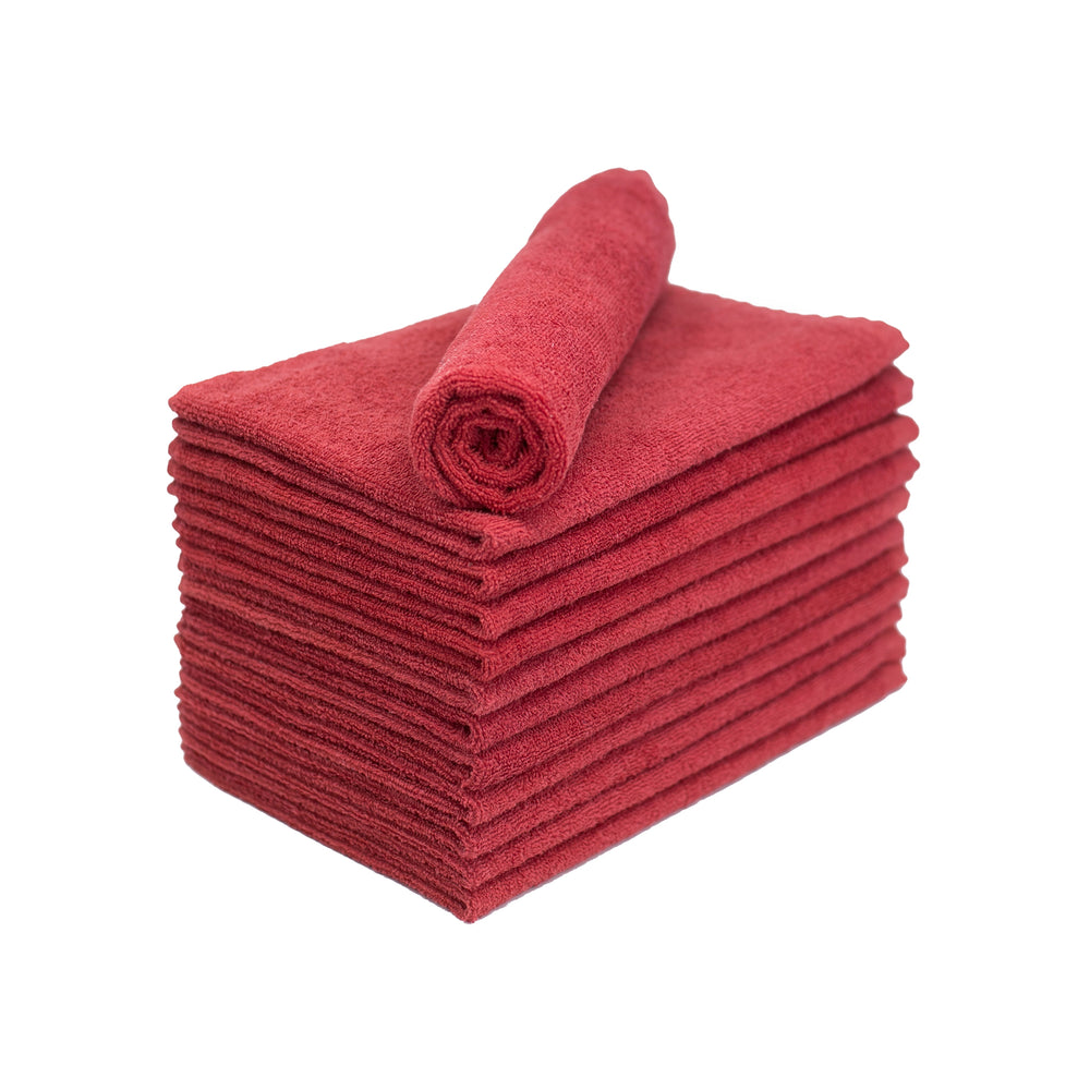 Red Bleach Proof Salon Towels 15