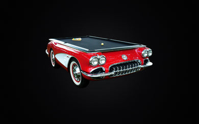 Corvette pool table