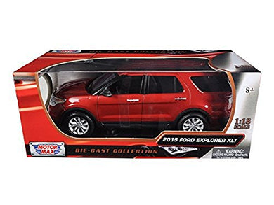 Ford 2015 Explorer XLT Red 1/18 by Motormax