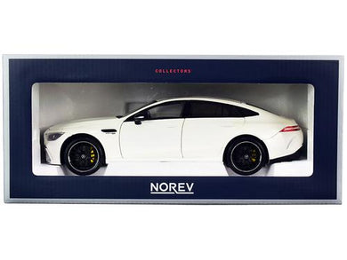 2018 Mercedes AMG GT S 4 Matic+ White 1-18 Diecast Model Car by Norev