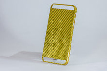 Carbon Fiber Gold iPhone 6 cover